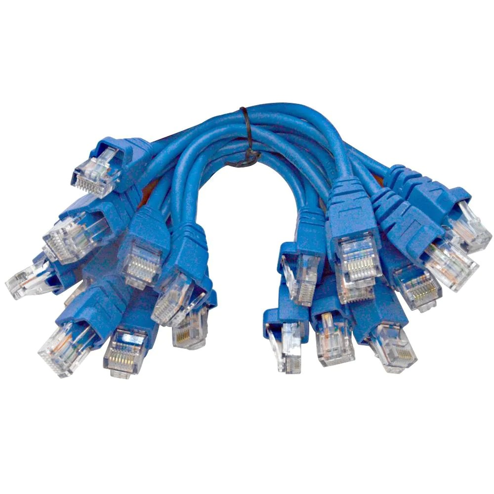 Cable Ethernet Sapt534 10 Pack Of 6 Inch Cat5e Utp Patch Cables Rj45 Ethernet 8 Wire Cords