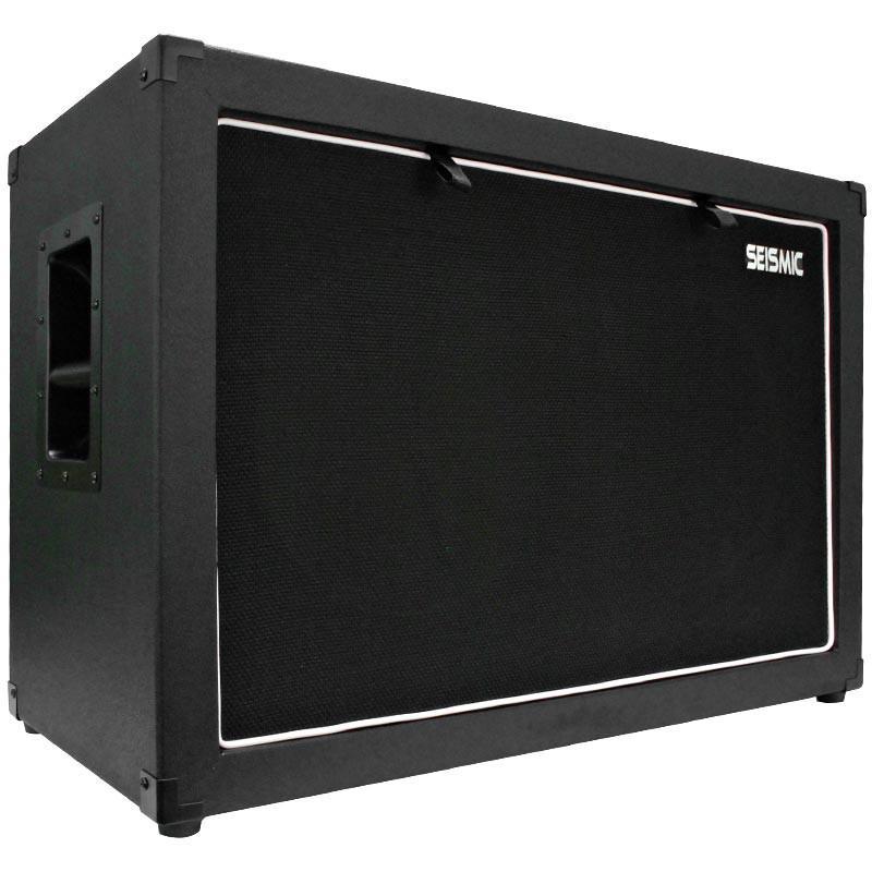 Empty 2x12 Guitar Cabinet Black Tolex Guitar Cabinet