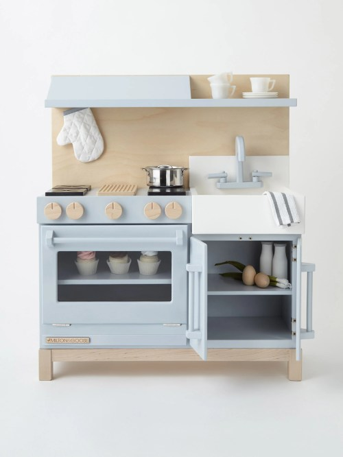 Considerable Milton Goose Play Kitchen Front Accessorized Web 2048x Wooden Play Kitchen Set Wooden Play Kitchen Big W