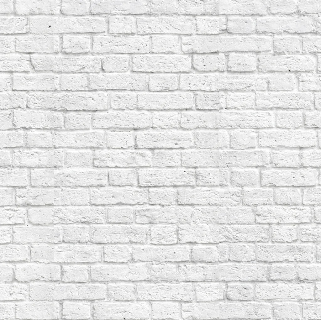 Baksteen Behang Wit Classic White Bricks Wallpaper Wynil By Numérart
