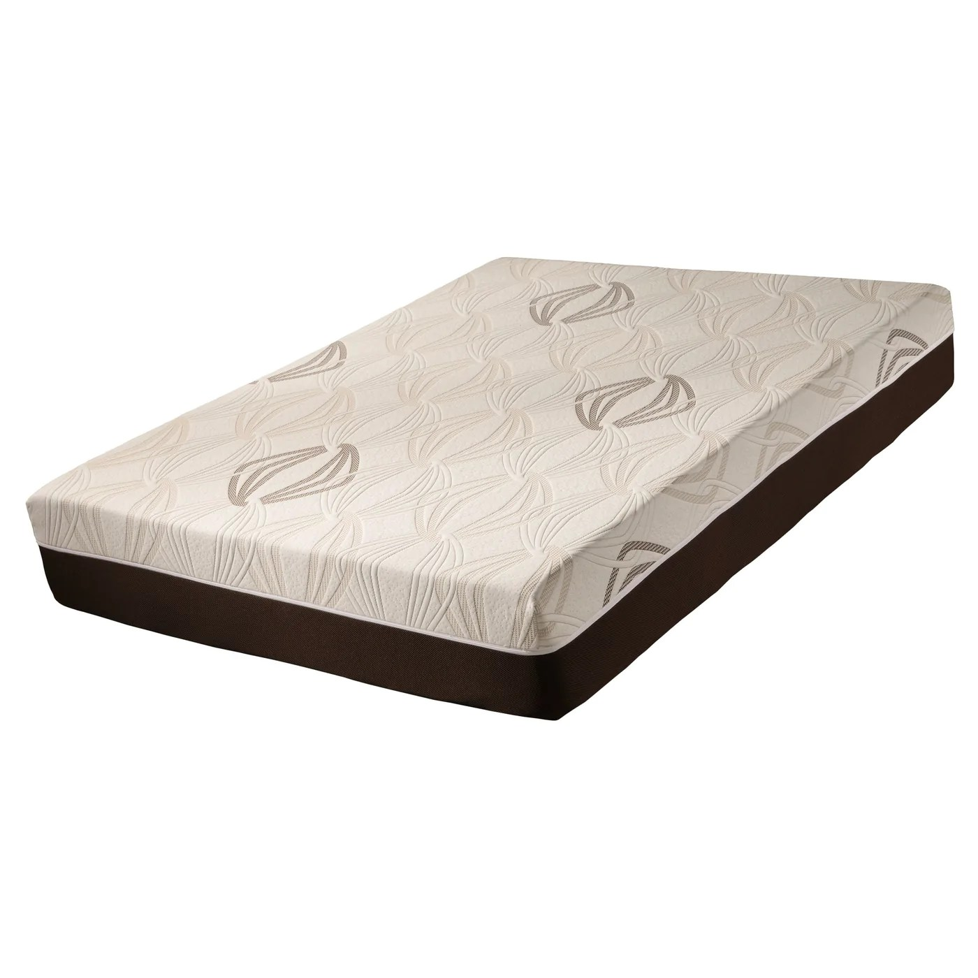 Foam Or Latex Mattresses Blissful Nights Violet 11 In Gel Memory Foam Latex Mattress 11gvlviolet