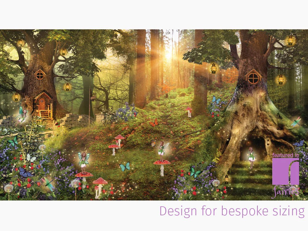 Fairy Wall Mural | Fairy Wallpaper | Away With The Fairies | reroom