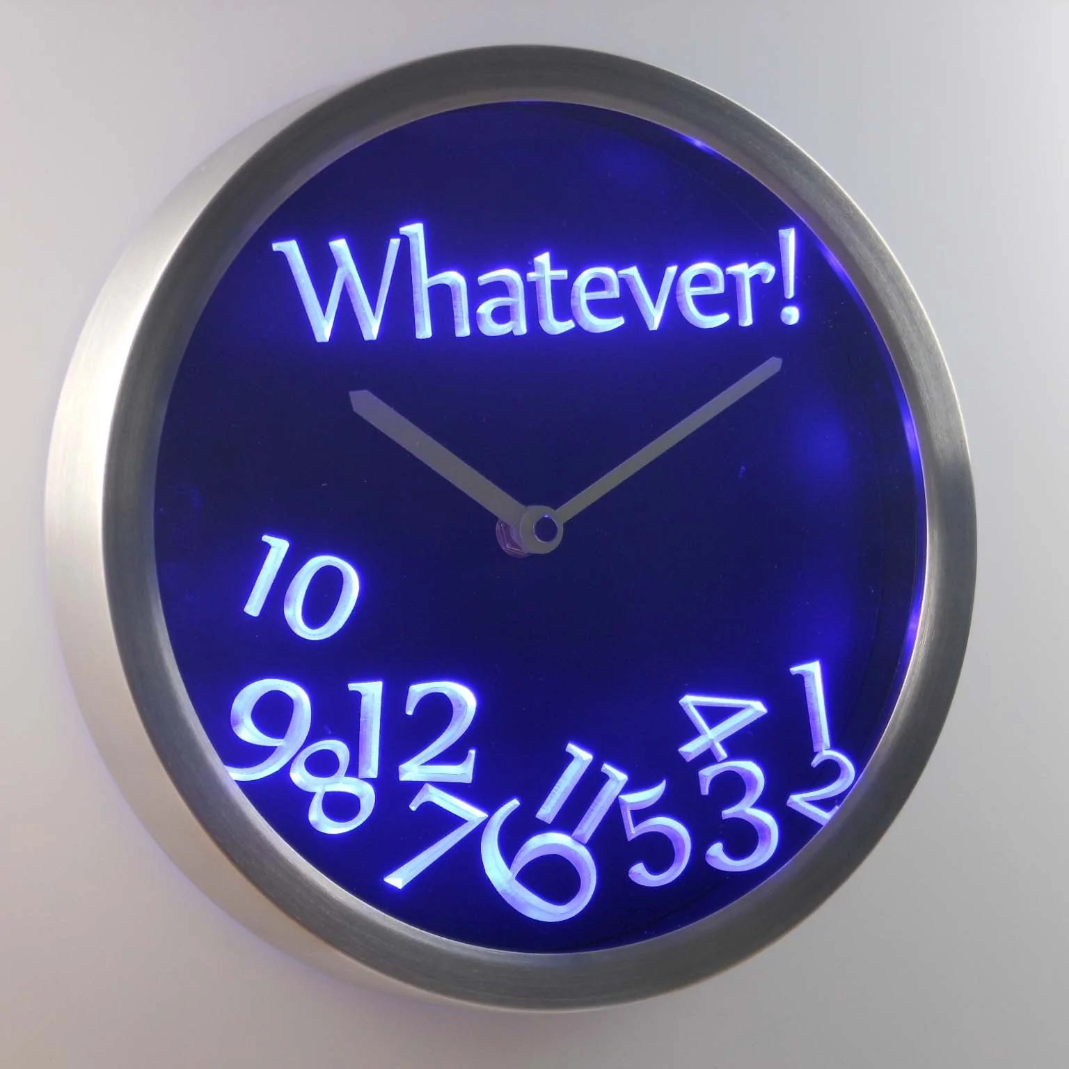 Digital Clock For Sale Whatever Led Neon Wall Clock Safespecial