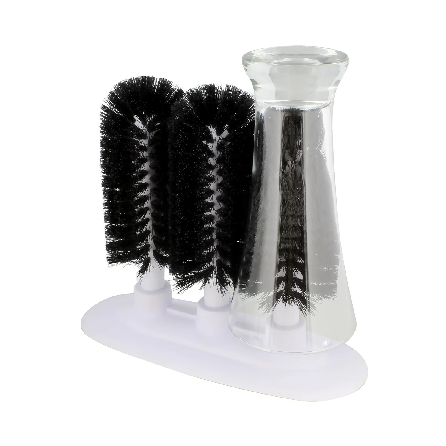 Countertop Glass Washer Glass Cleaning Brush 3 Brush Glass Washer Glass Rinser Cup