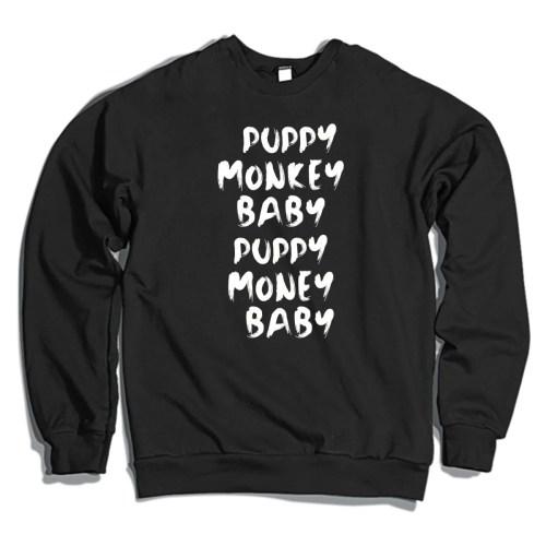 Medium Of Puppy Monkey Baby