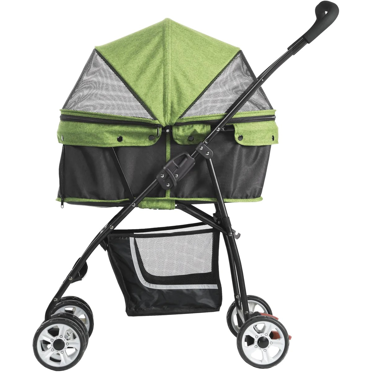 Triple Pet Stroller Petty Man 870i Pet Stroller Dog Pram