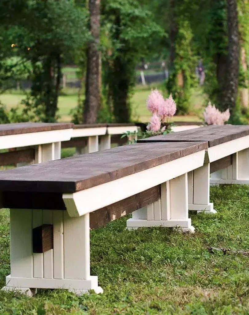 Wooden Bench Table Wooden Benches