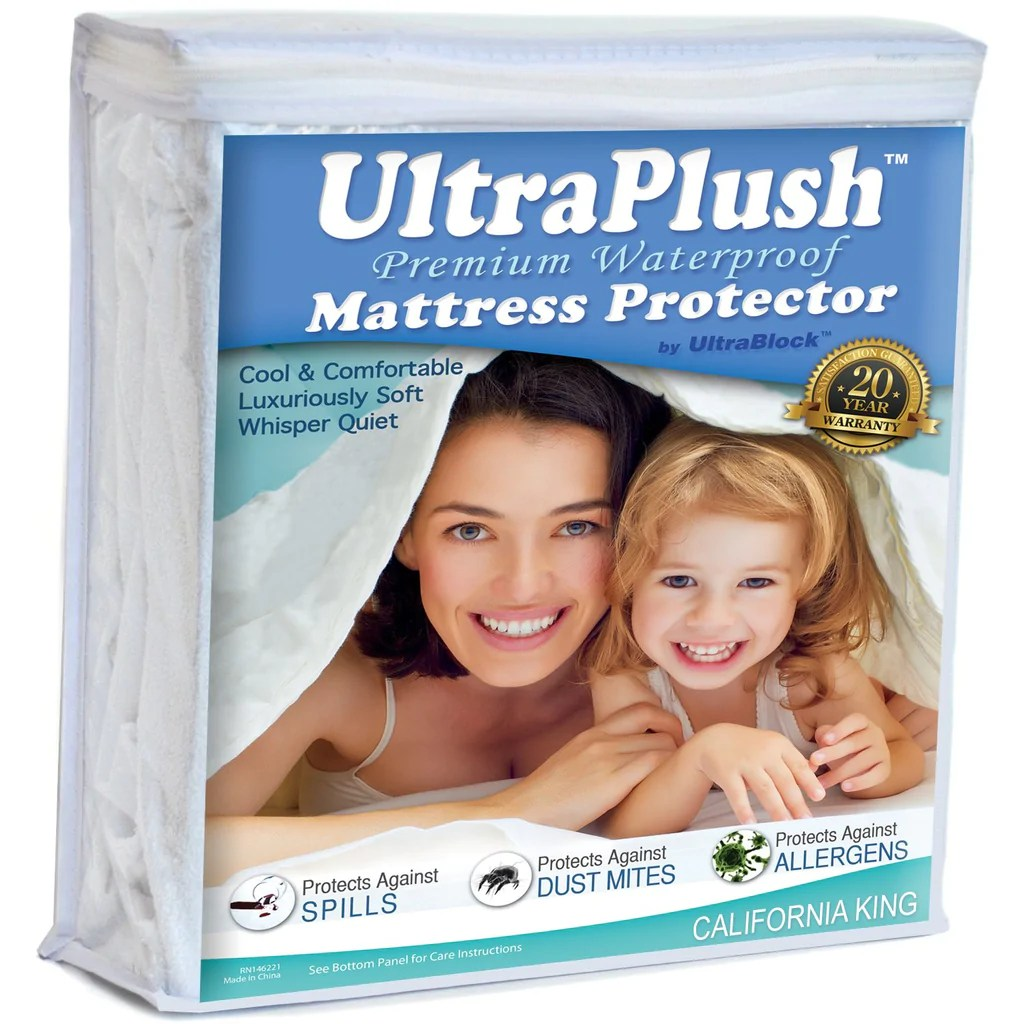 Super King Size Waterproof Mattress Protector Ultraplush Premium Waterproof Mattress Protector Super Soft