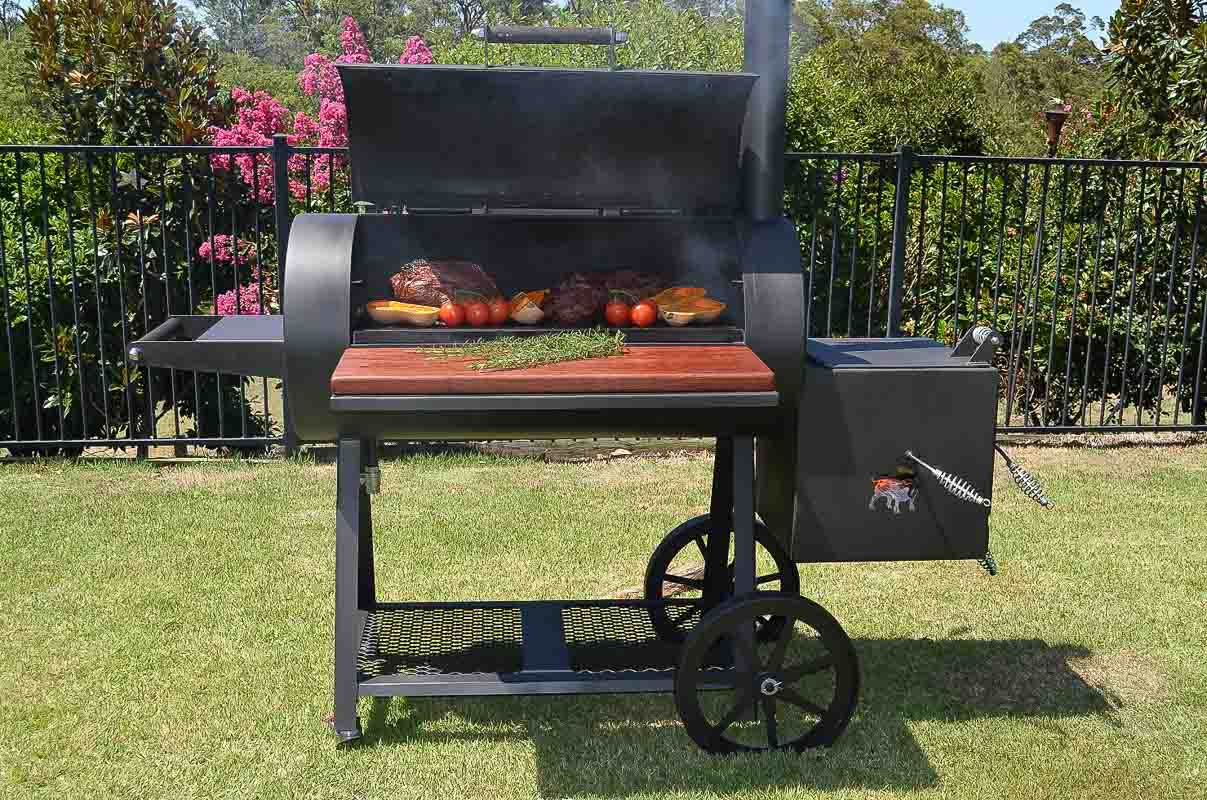 Barbecue Smokers Low And Slow Wild West Smokers - Meat Smoker In Australia