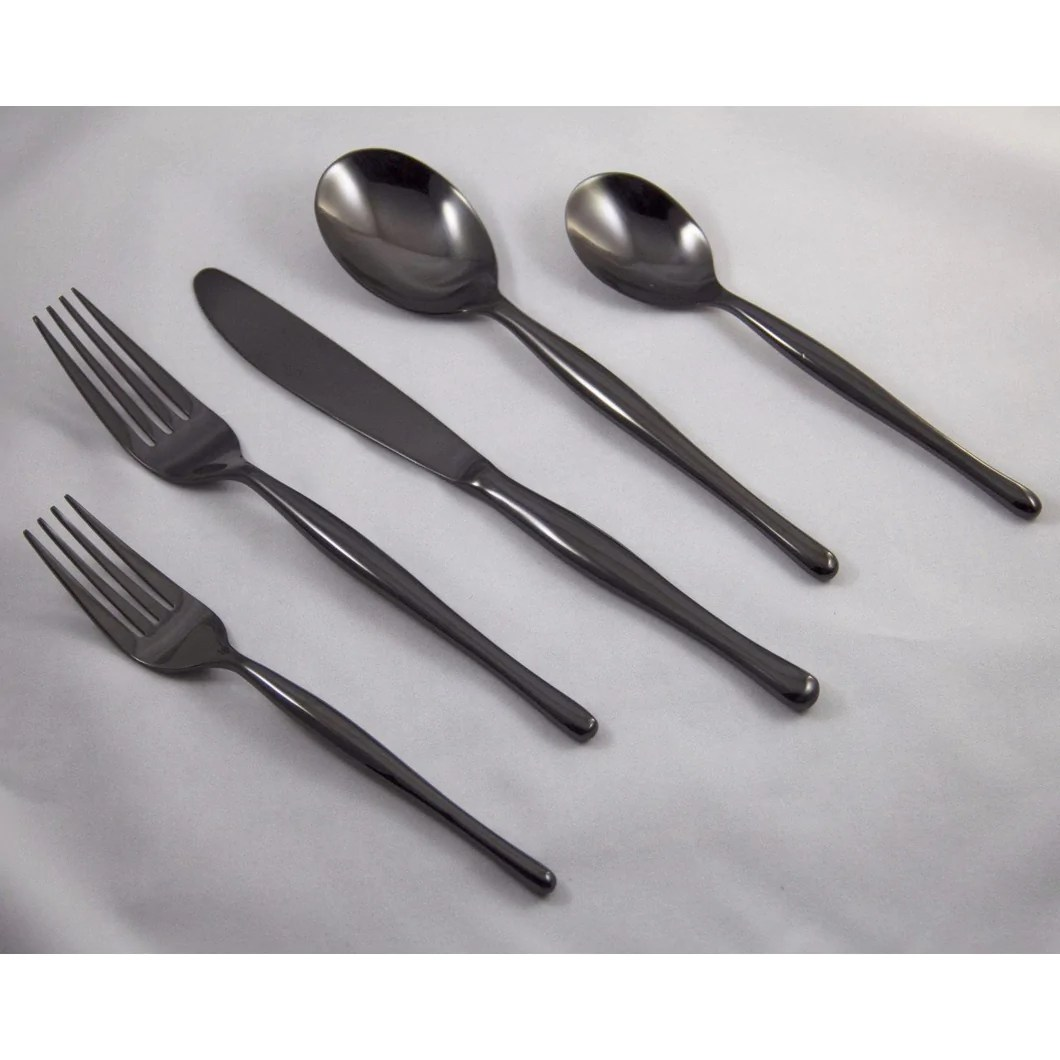 Contemporary Stainless Steel Flatware Modern Flatware Elegant Reserved Style Flatware By By