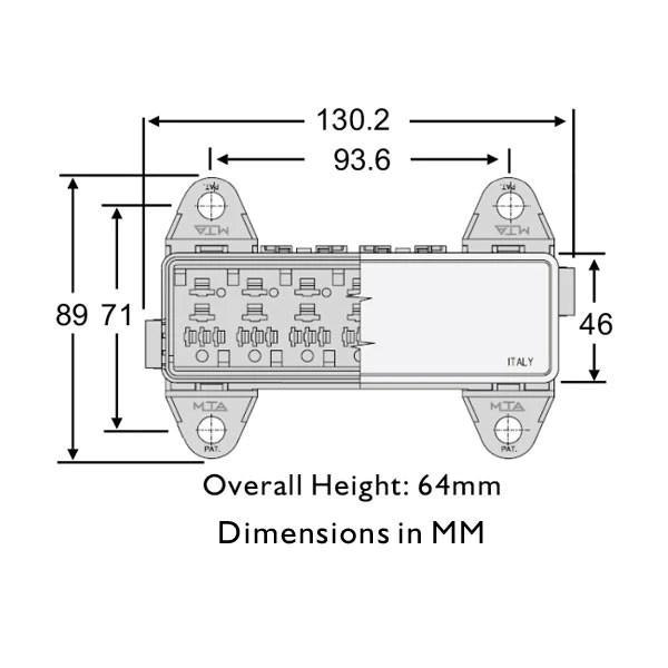 wire 5 pin mini relay