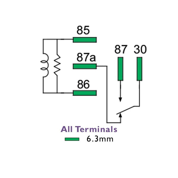 5 pin changeover relay auto electrical wiring diagrammini relay 24 volt 20 15 amp change over n closed 5 pin