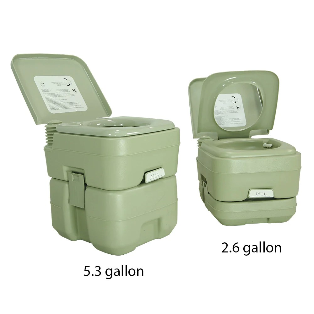 Camping Toilet 5 3 Gallon Travel Outdoor Camping Toilet
