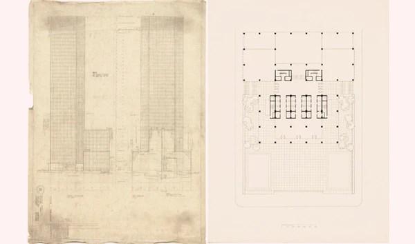 Seagram Building Mies Van Der Rohe Philip Johns Cad