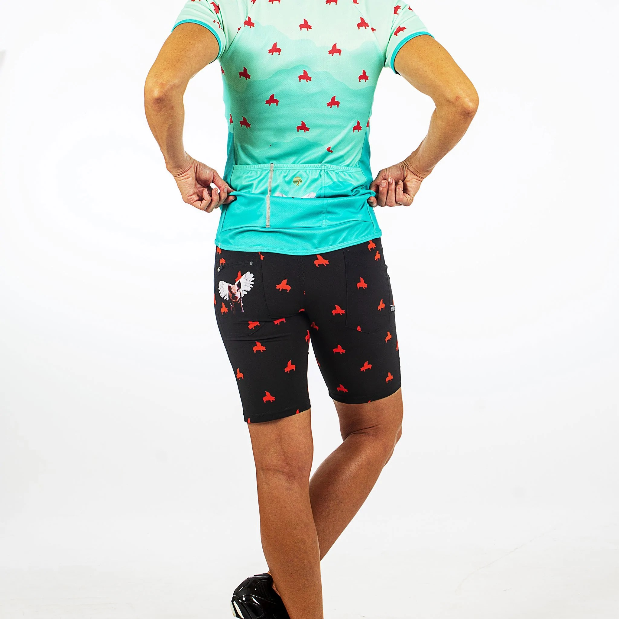 Cycling Clothing Shebeest Women Inspired Cycling Apparel