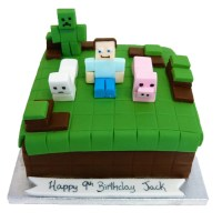 Minecraft Cake - 79.95 - Buy Online, Free UK Delivery ...
