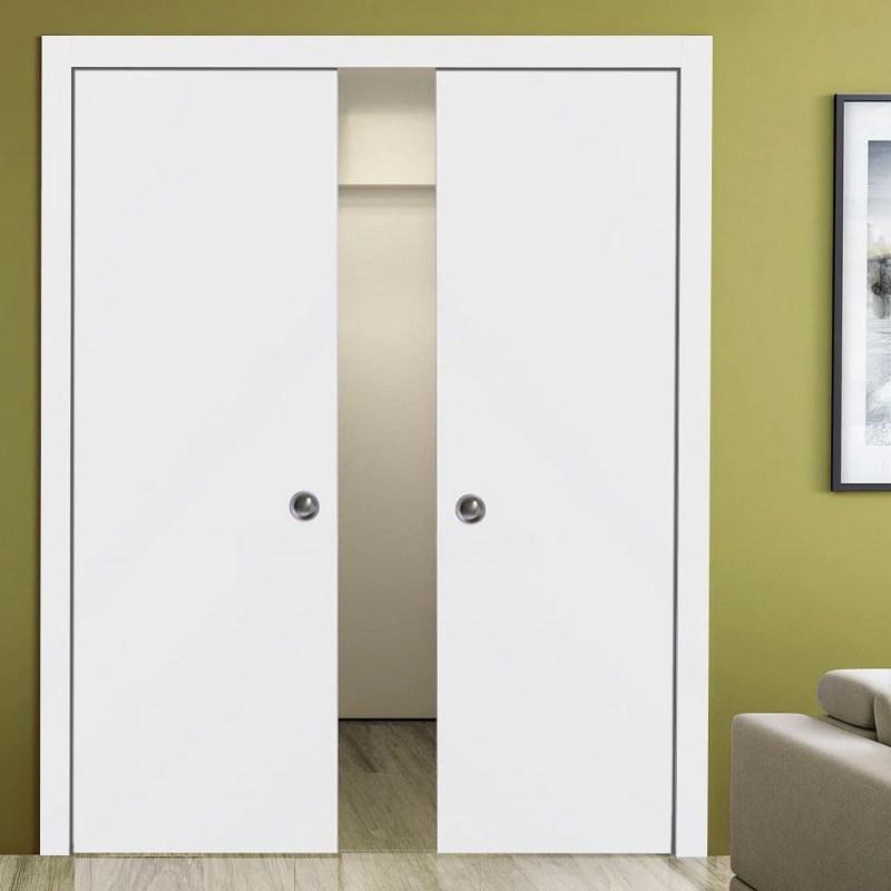 Large Of Double Pocket Door