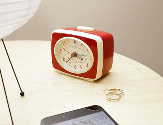 Nachttischlampe Klein Little Retro Alarm Clock | Huckleberry Kids Room