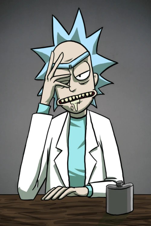 Rick And Morty Quote Wallpaper Rick And Morty Rick Sanchez Cosplay Wig Fairypocket Wigs