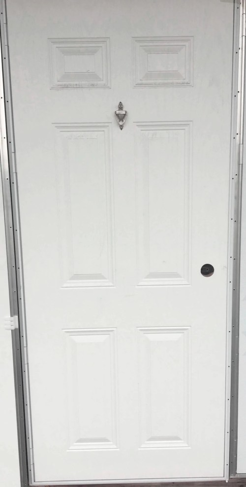Medium Of Outswing Exterior Door