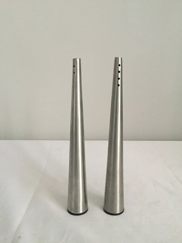 Modern Salt Pepper Shakers Danish Modern Stainless Salt Pepper Shaker Set