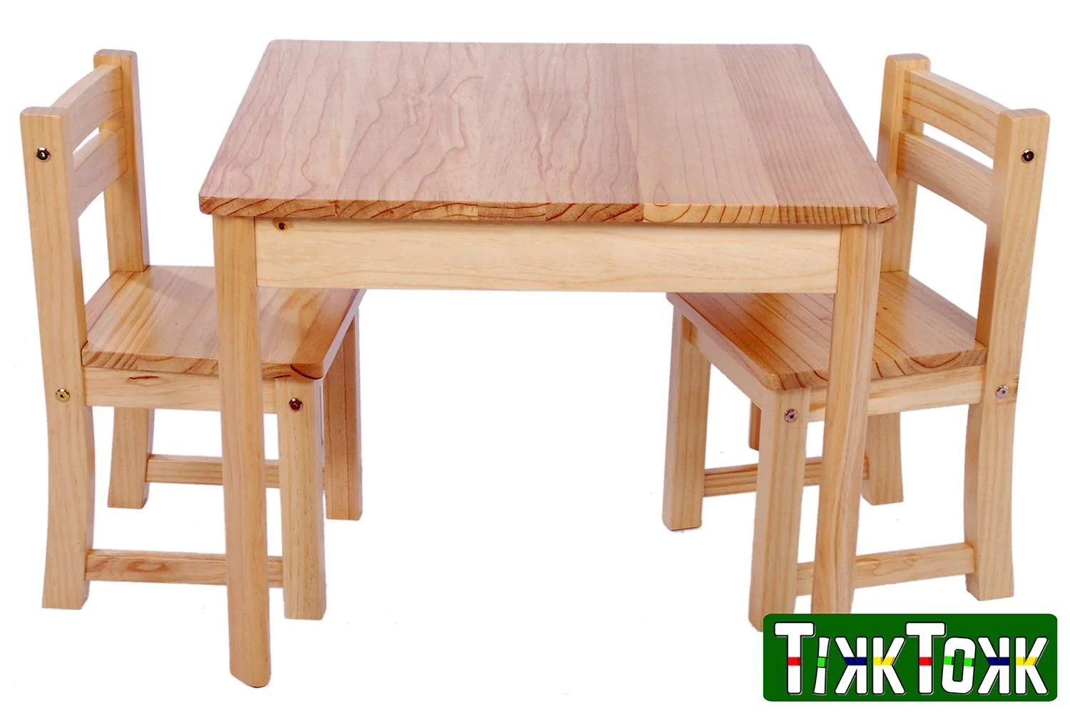Tufstuf Junior Pine Table And Chairs Set 50cm Table