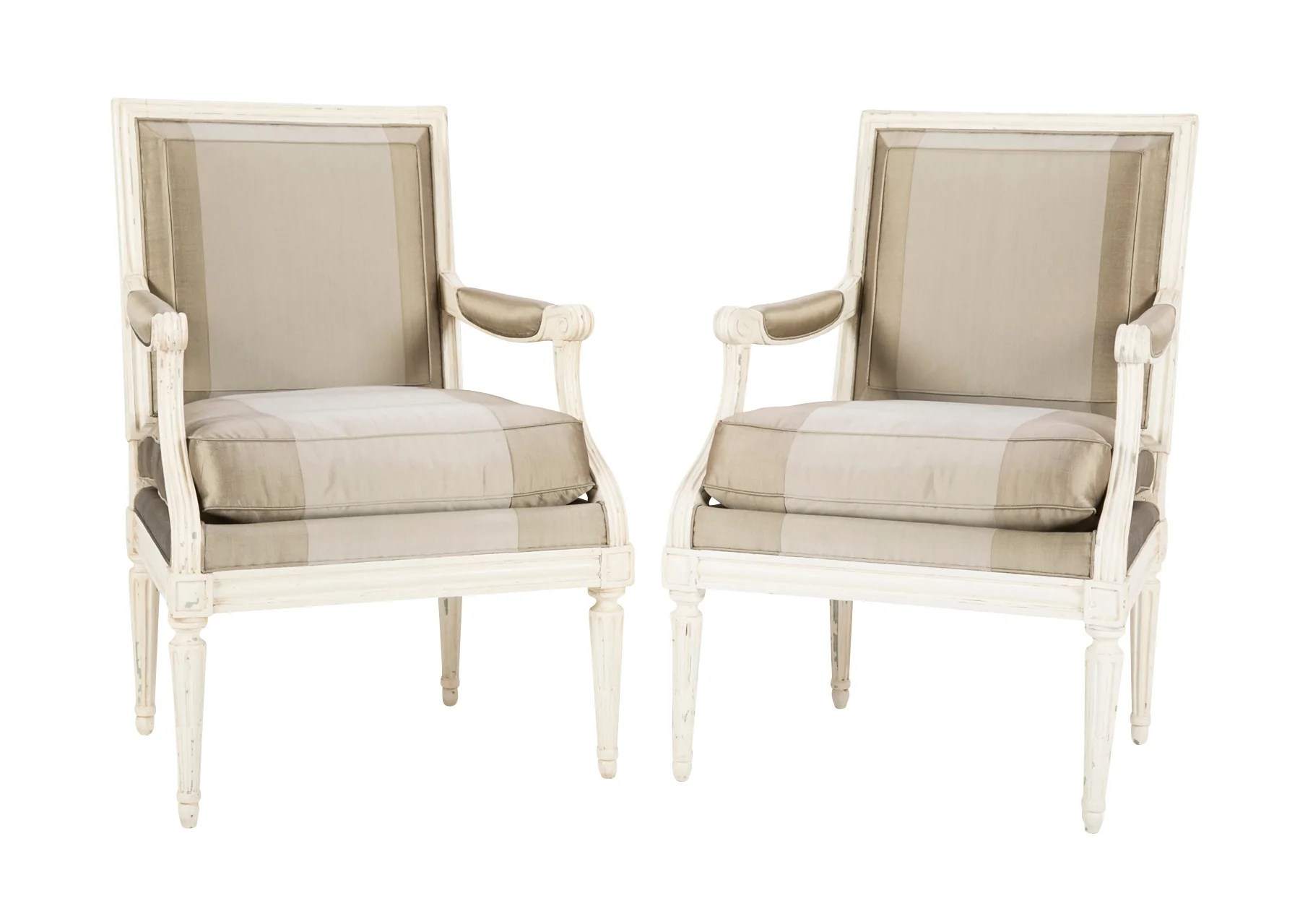 Pair Of Louis Xvi Fauteuils Avery Dash Collections