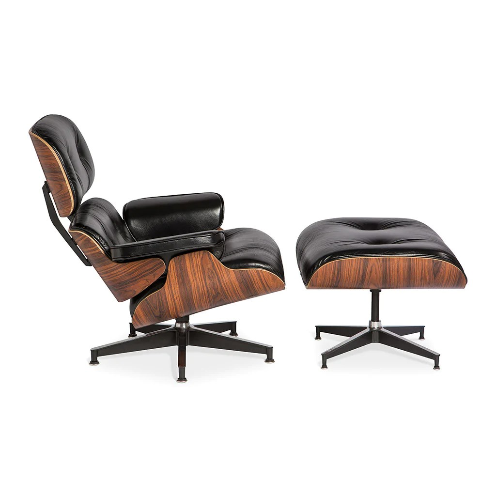 Eames Lounge Chair Ottoman Replica Lounge Chair With Ottoman Mid
