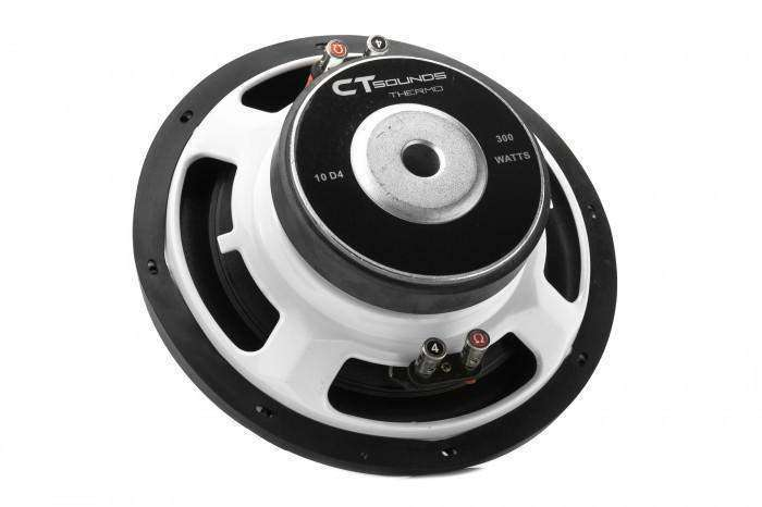 Ct Sounds Thermo 10 Inch Shallow Subwoofer D4