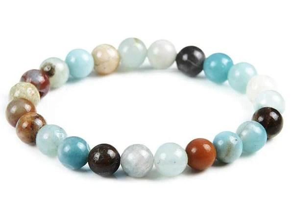 Amazonite Stone Stretch Bracelet Drop Shipping By