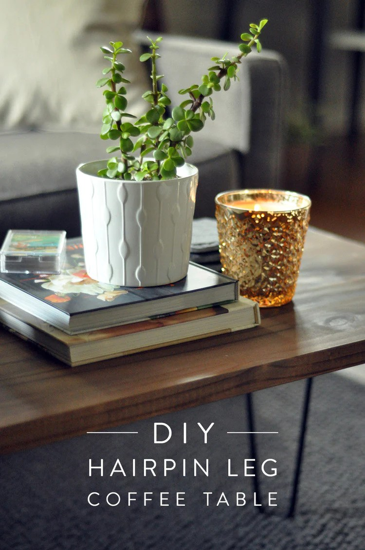Diy Desk With Hairpin Legs Diy Hairpin Leg Coffee Table Tutorial Jaymee Srp