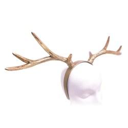 Small Crop Of Reindeer Antlers Headband