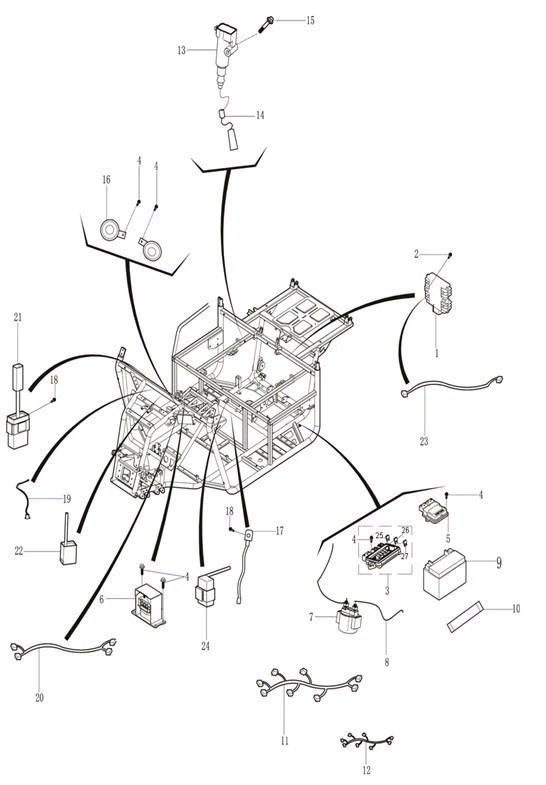 massimo 500 wiring diagram