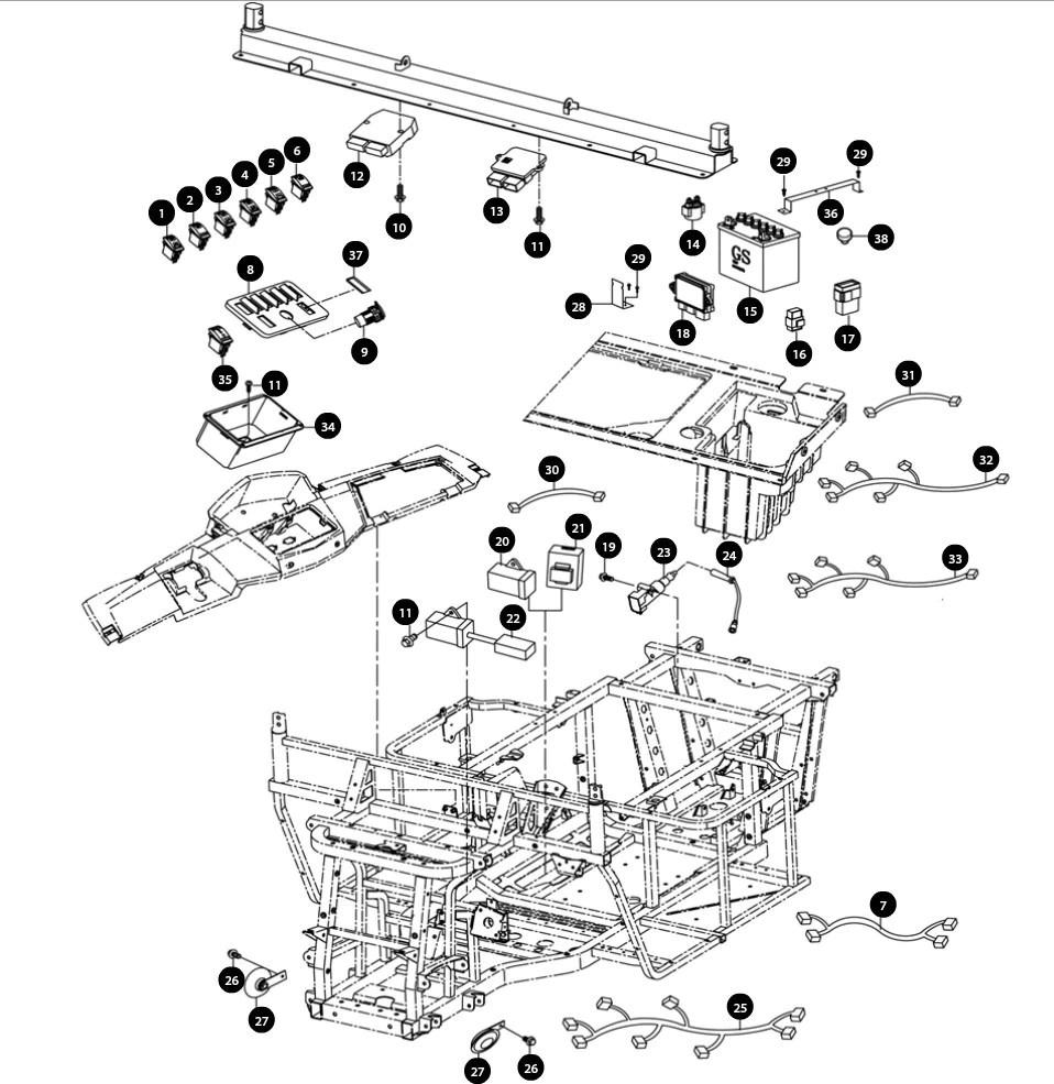 fan wiring diagram for 1994 bayou 400