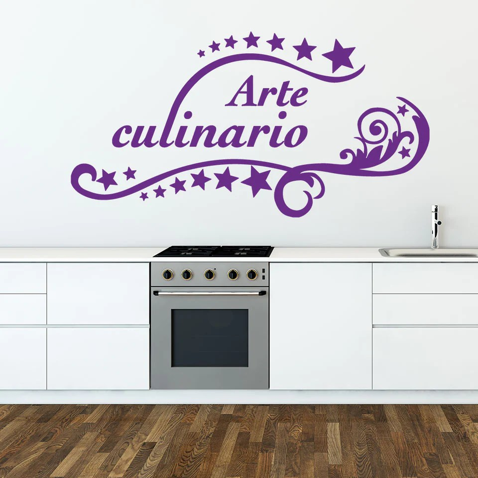 Arte Culinario Wallpaper Arte Culinario Wall Decal