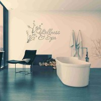 Wellness & Spa Wall Decal  Style and Apply
