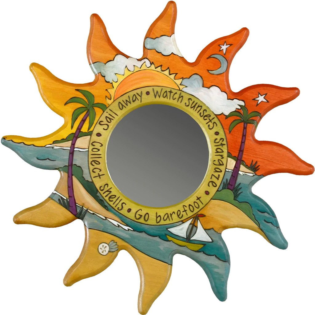 Sun Shaped Mirrors Mirrors Tagged