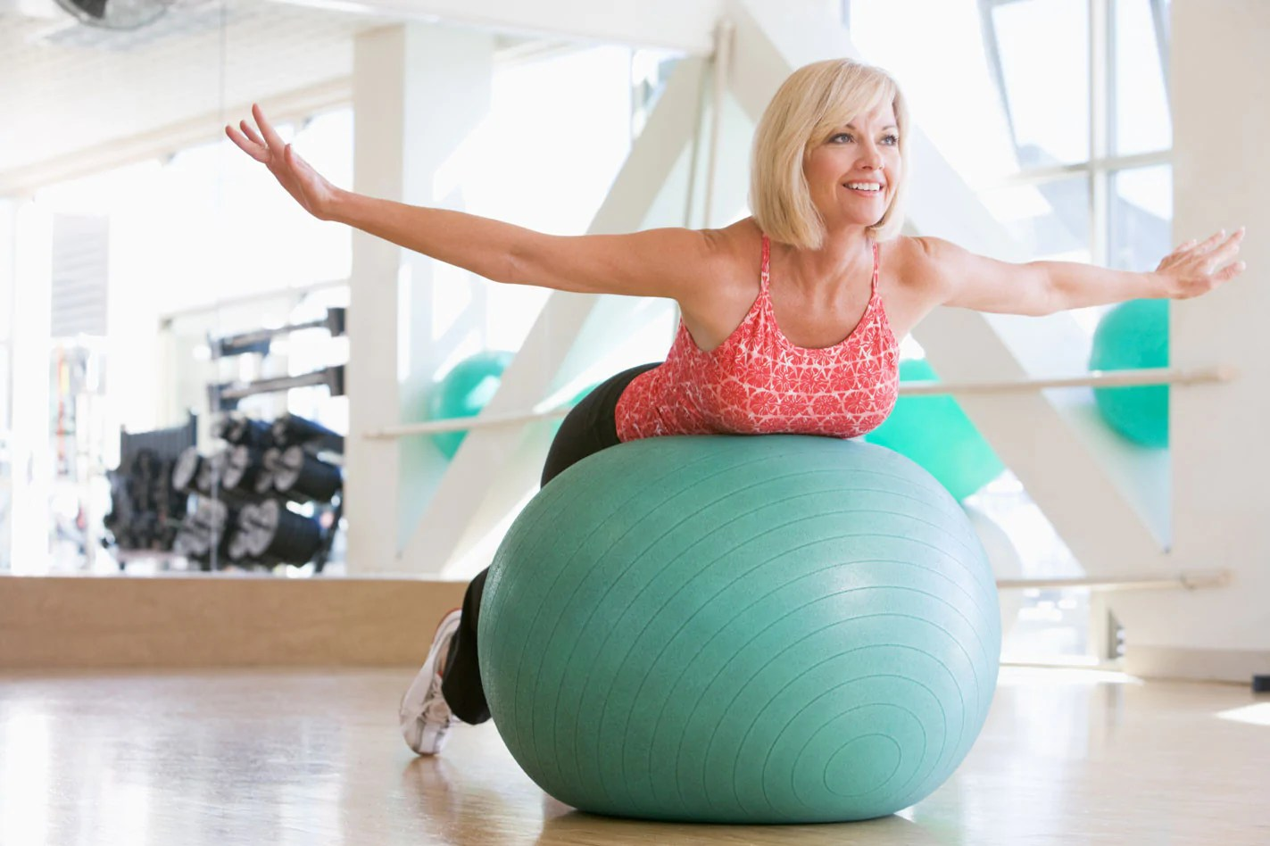 Balance Ball Therapy 4 Exercises For Back And Knee