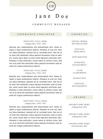 clean resume - Narcopenantly