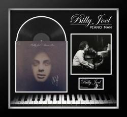 Eye Billy Joel Piano Man Signed Album Billy Joel Piano Man Signed Album Front Row Memorabilia Billy Joel Album Covers Images Billy Joel Attila Album Cover