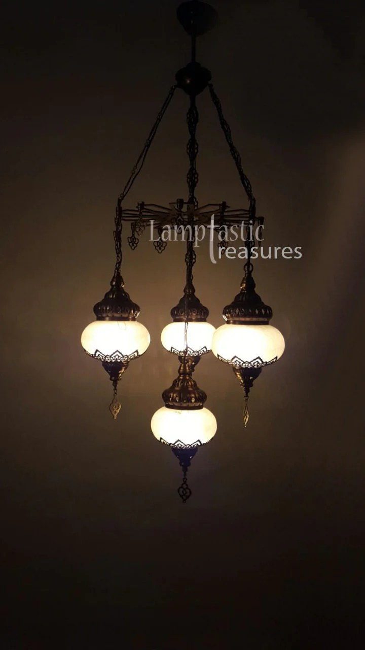 Glass Lamp Ceiling Glass Globe Chandelier Ceiling Lighting Fixture