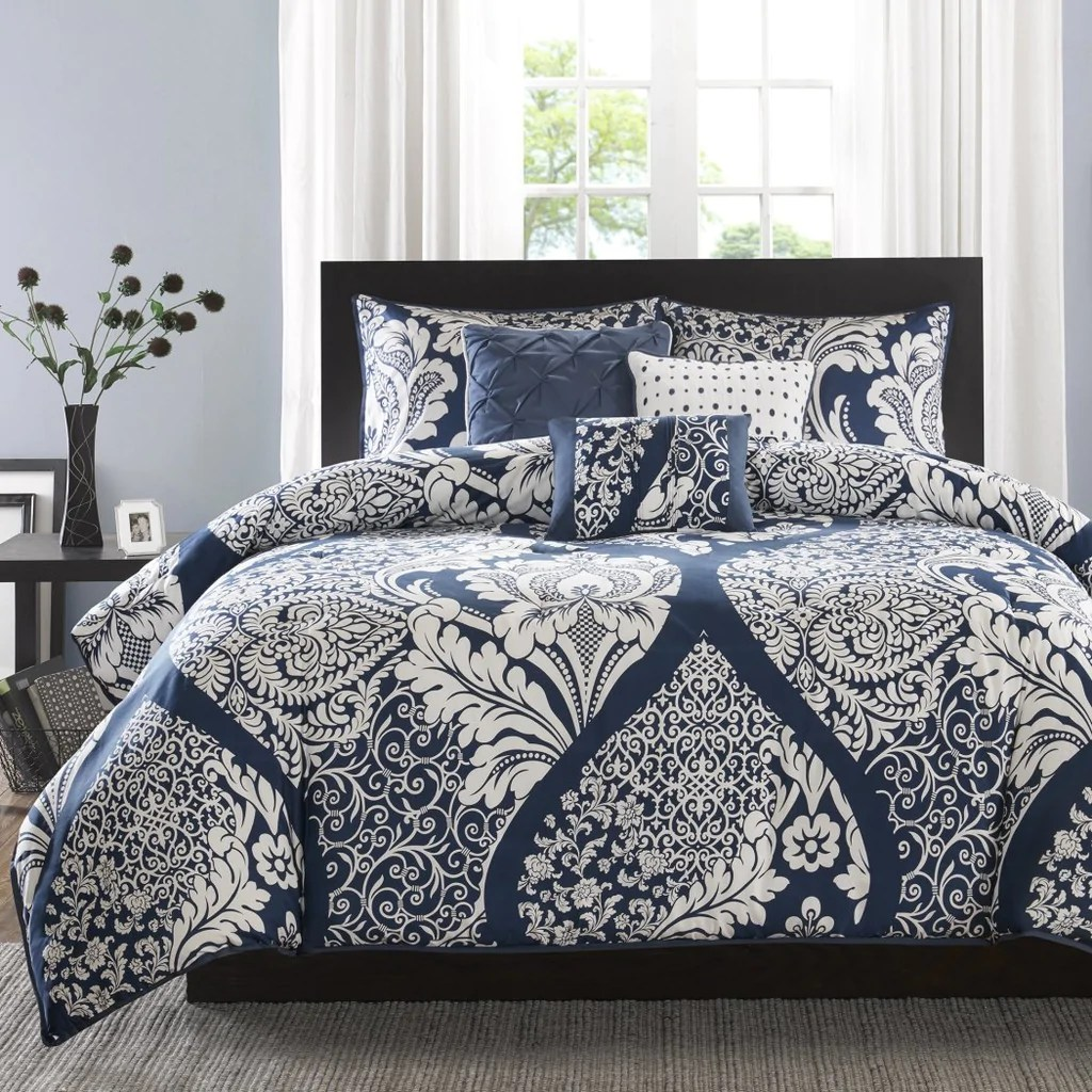 Damask Duvet Girls Damask Duvet Cover Set Pretty Paisley Floral Bedding Girly