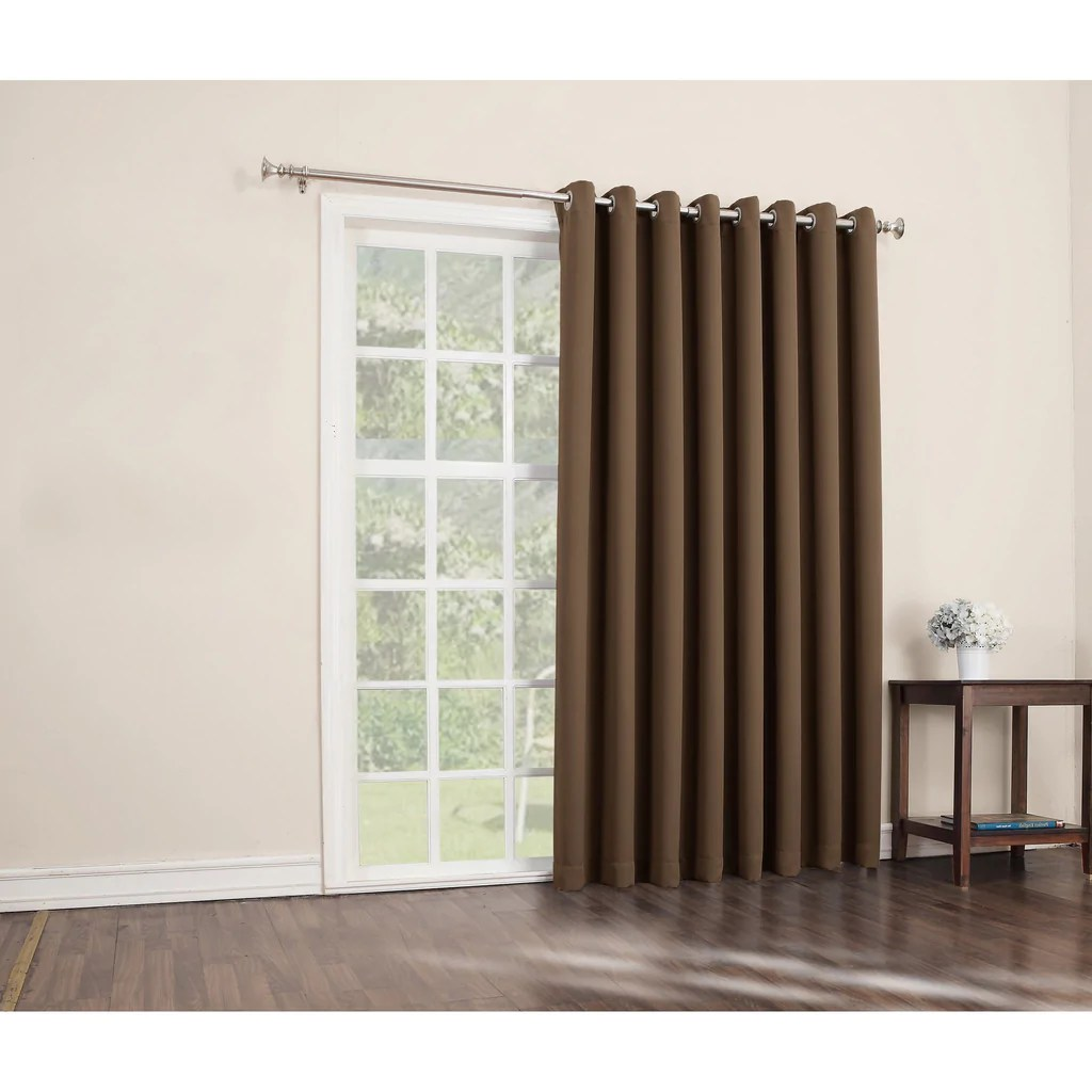 Sliding Door Curtain Barley Sliding Door Curtain Sliding Patio Door Panel Window Treatment