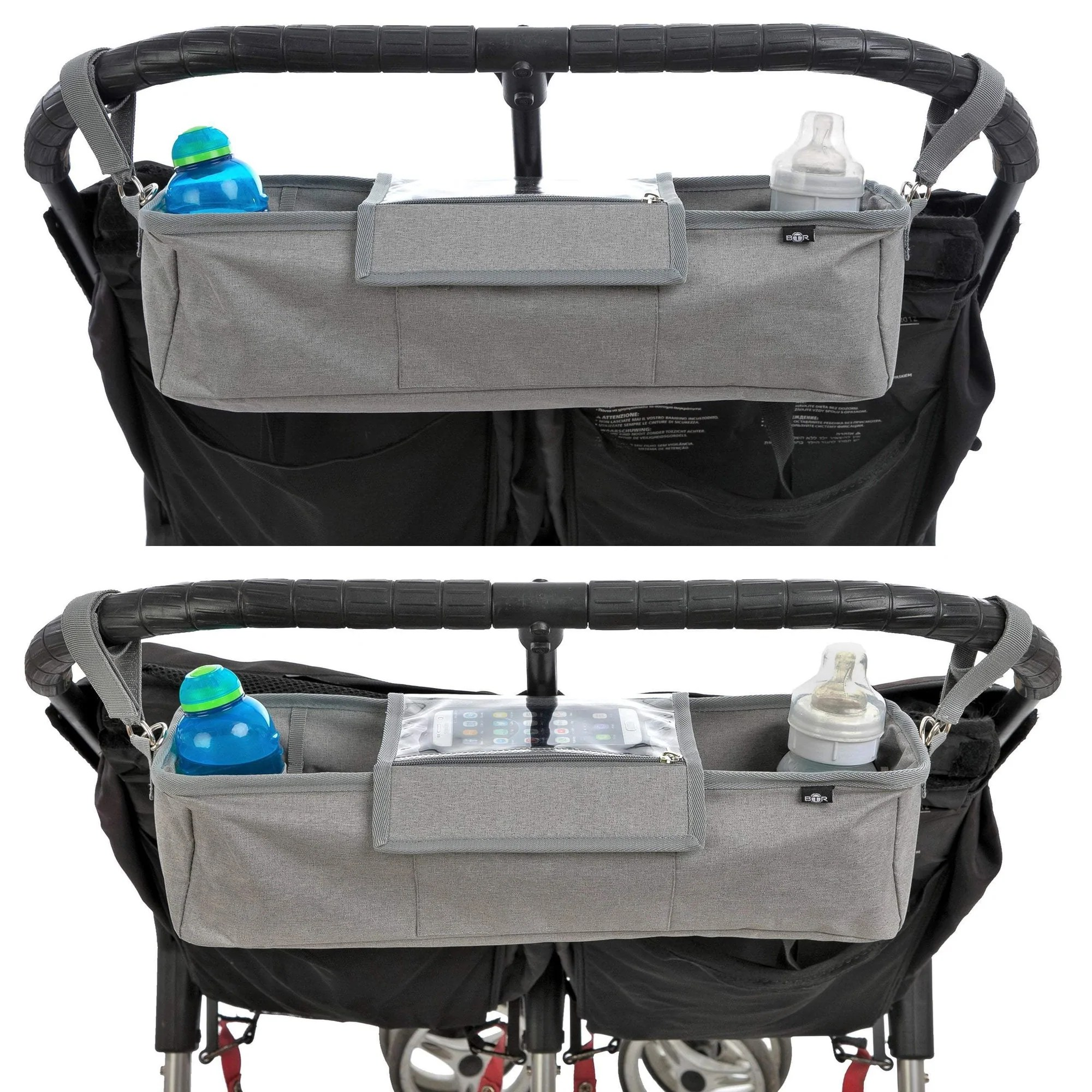 Double Pram Australia Reviews Btr Pram Buggy Organiser For Twin Double Buggies Plus 2 X