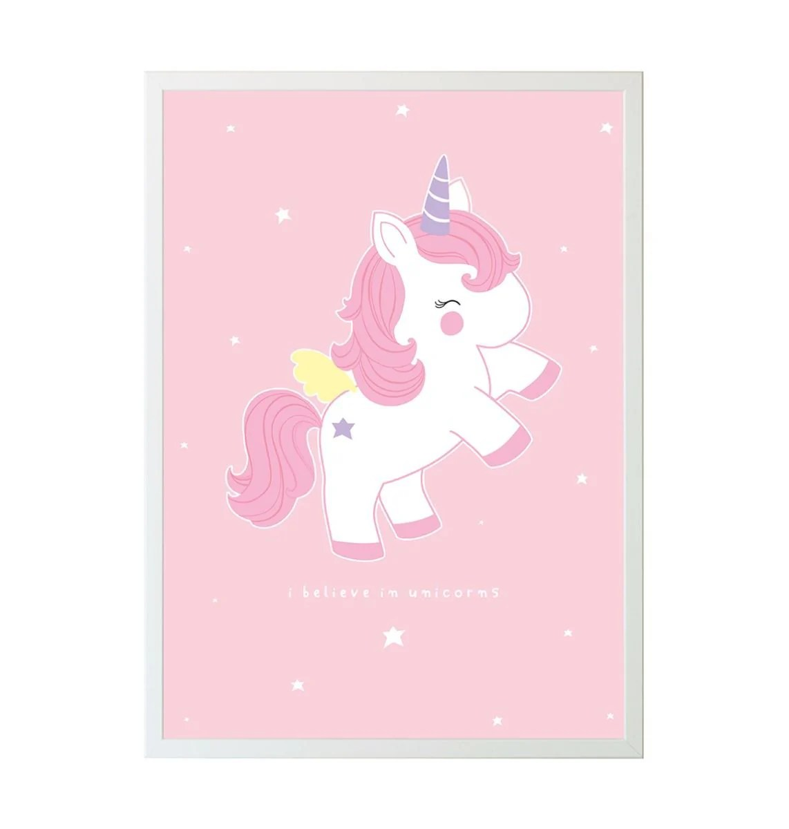 Cute Pink Glitter Wallpapers Baby Unicorn Quot I Believe In Unicorns Quot Poster The Unicorn