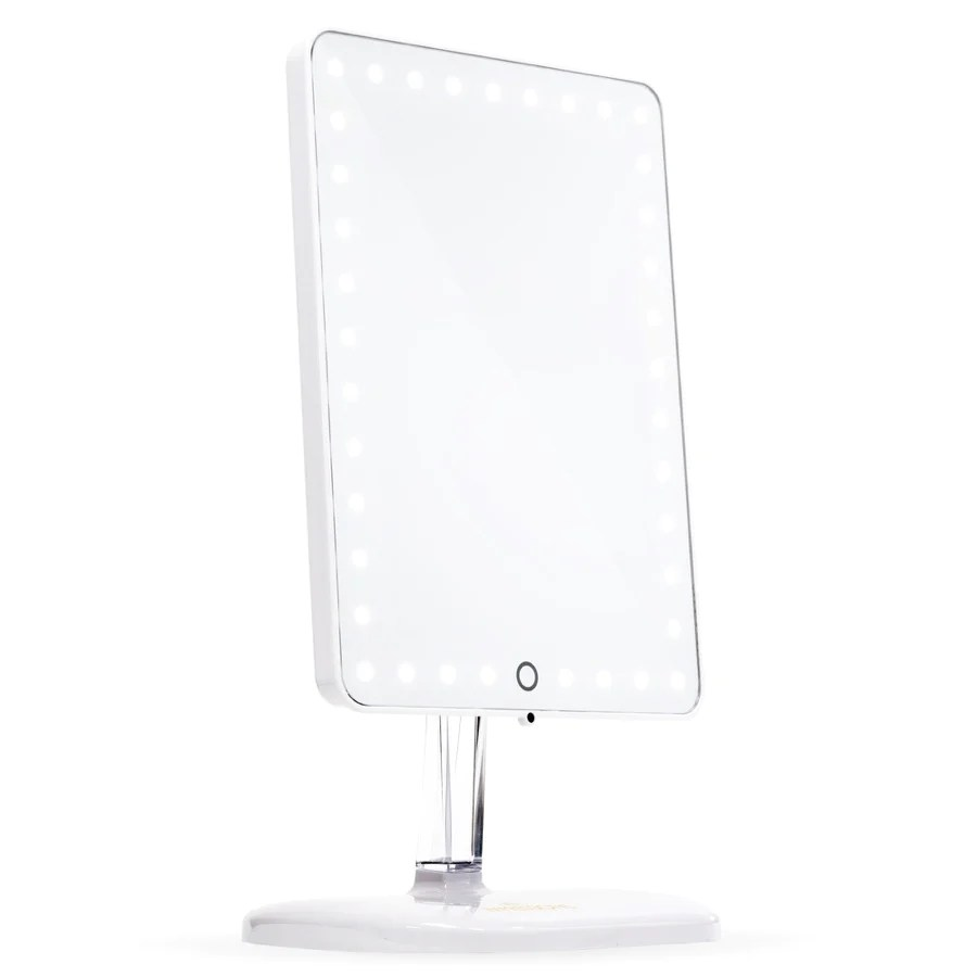 ??led Touch Pro Led Makeup Mirror With Bluetooth Audio Speakerphone Usb Charger