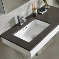 "19"" Essence Rectangular Ceramic Undermount Bathroom Sink"