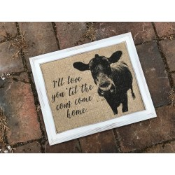 Small Crop Of Cows Home Decor