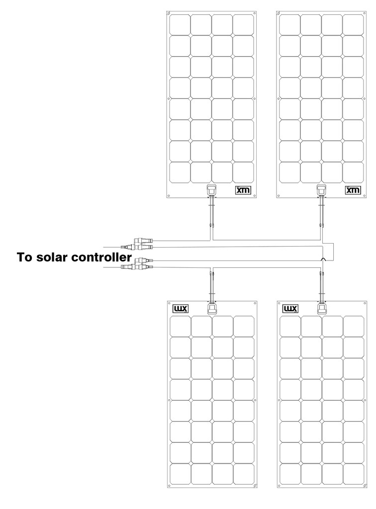 solar panel wiring configurations