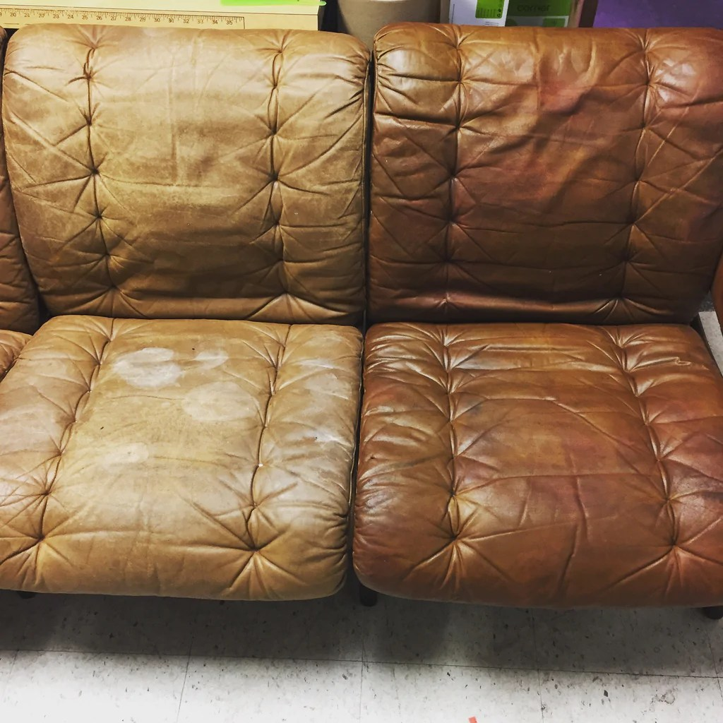 Sofa Leather Repair Toronto Hart Hive How To Complete Leather Restoration